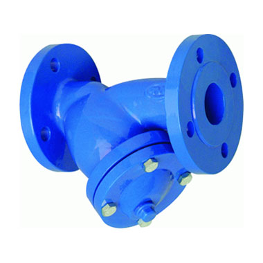 Strainer for cold water, oil and gaz, Y type